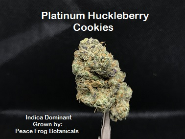 Platinum Huckleberry Cookies Slide